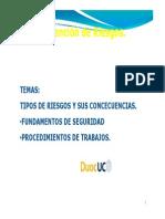 2° Clase 2013   Identificación de Riesgos.