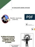 Legislación Laboral Aplicada 2013