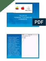 Comandos en Línea de Apple (MAC OS X)
