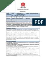 Programa Inmunologia 2013
