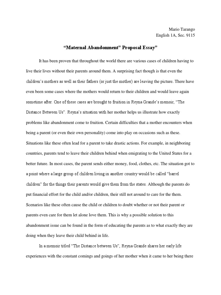 who are parents essay