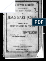 Book of the Families Consecrated to the Holy Family of Jesus, Mary and Joseph (1893)
