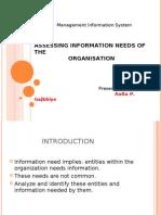 Assesing Info Need of the Organization [15_Sept 2009]-ANITA