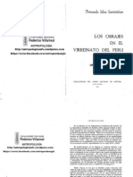 Silva Santisteban, Fernando - Los Obrajes en El Virreinato Del Perú