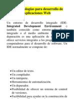 1.3 Tecnologías Para Desarrollo de Aplicaciones Web MY