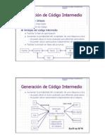 Generación Código Intermedio 2