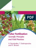 Dra. Victoria Fernández - Foliar Fertilization