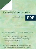 LA MOTIVACION LABORAL