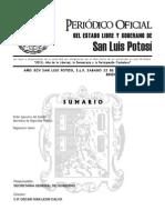 Reglamento Interior de la Secretaría de Seguridad Pública del Estado (22-SEP-2012)