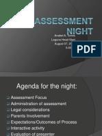 assessment  night