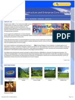Philippine Tourism Development Projects - Tourism Infrastructure