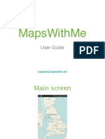 MapsWithMe User Guide 1.2