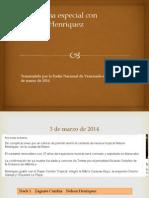 Programa Nelson Henriquez