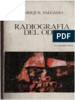 Salgado, Enrique - Radiografia Del Odio