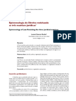 As 3 Matrizes Juridicas