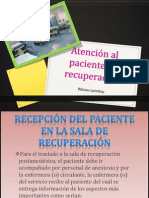 Atención Al Paciente en Recuperación