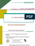 1. Lenguaje y Tecnica de Comunicacion