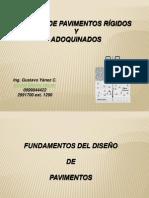 Diseño de Pavimento Rigido y Adoquin