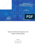 Libro_Bastiaens_Education and Information Technology 2012 a Selection of AACE Award Papers