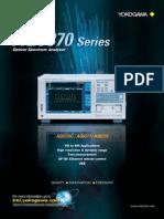 Analizador de Espectro Óptico AQ6370C - 6373 - 6375 (1)