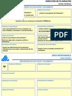 Formato Para Fichas de Indicadores