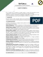 Manual de Saint Nomina 2014