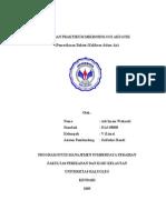 Laporan Praktikum Mikrobiologi Akuatik