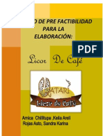 Proyecto Licor de Cafe