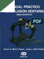 Manns - Manual Practico de Oclusion Dentaria