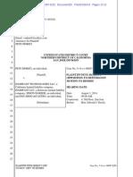 Morici v. HashFast (Motion to dismiss)