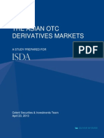 Celent ISDA Asian OTC Derivatives Markets FINAL