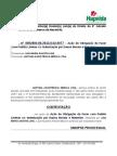ANA MARIA SANTOS LINS (Contestação) Ausência de Prestador - CPT - Dano Moral e Material - Ônus