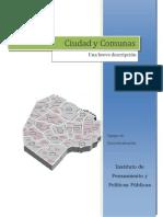 IPyPP 20101015 Documento Síntesis Comunas