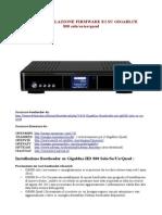 Guida Installazione Firmware Enigma2 Su Gigablue800 Solo_se_ue_qud_ Rev.1.4