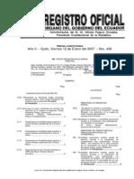 Registro Oficial (Manual Del Tarjetero Indice)