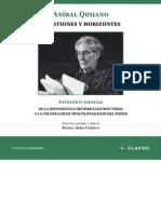 QUIJANO, Aníbal. Cuestiones y Horizontes. Antología Esencial