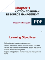 Chap1 Introduction of human resource