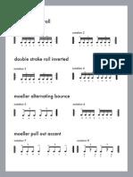 135173003 Jojo Mayer Secret Weapons for the Modern Drummer PDF Notation DVD