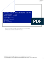 Intro Migration Tools
