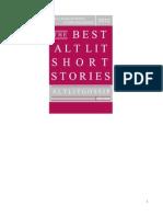 The Best Alt Lit Short Stories2012