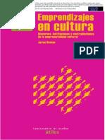 Emprendizajes de Cultura