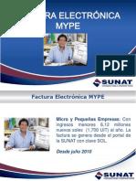 Comprobandes de Pago FacturaElectronica MYPE