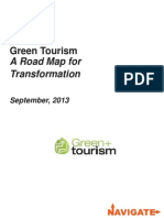 2013 Navigate Green Tourism Roadmap for Transformation