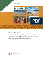 Bases Para La Inclusion Social de Los Indigenas Selva