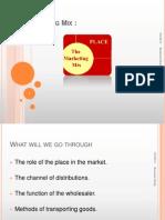 Chapter 22 - Marketing Mix - Place