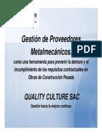 QC_Gestion de Proveedores