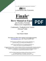 Finale Manual