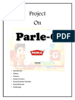 Project on Parle G