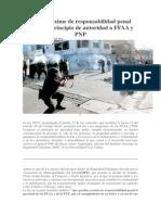 Ley Que Exime de Responsabilidad Penal Restituye Principio de Autoridad a FFAA y PNP