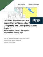 EDEL453 Spring2014 ZacharyHARO Unit Plan Wednesday